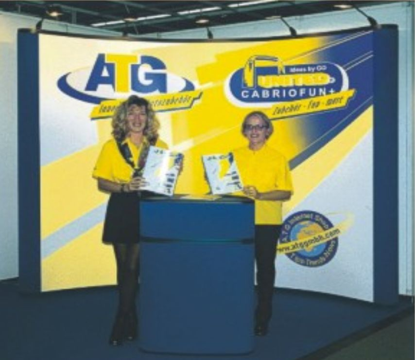 ATG Messestand