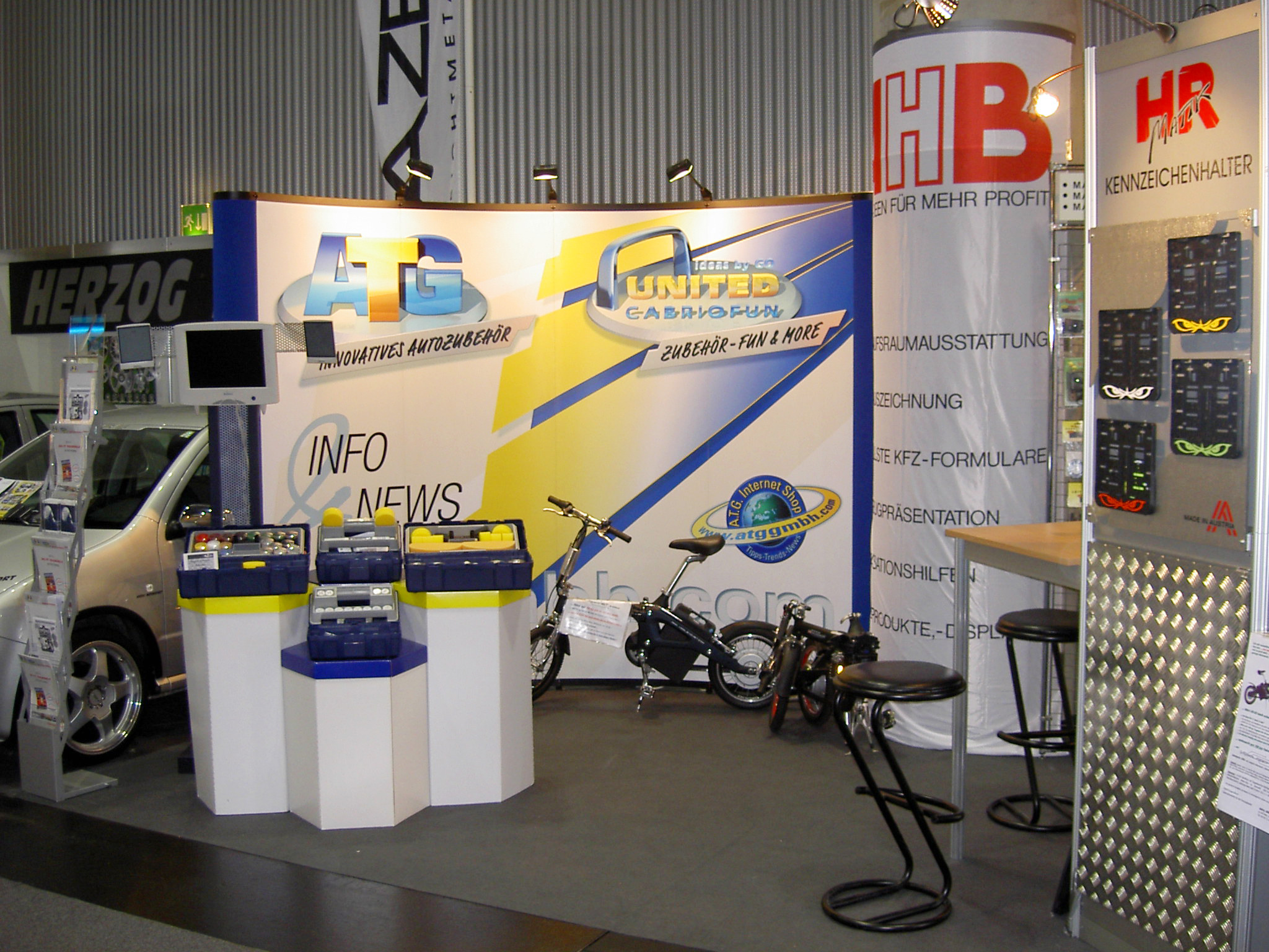 ATG Stand Automesse Wien